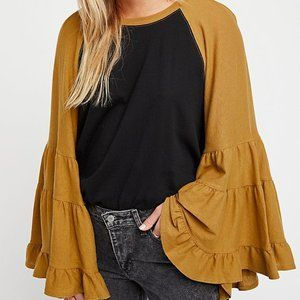 Free People No Crying in Baseball Tee